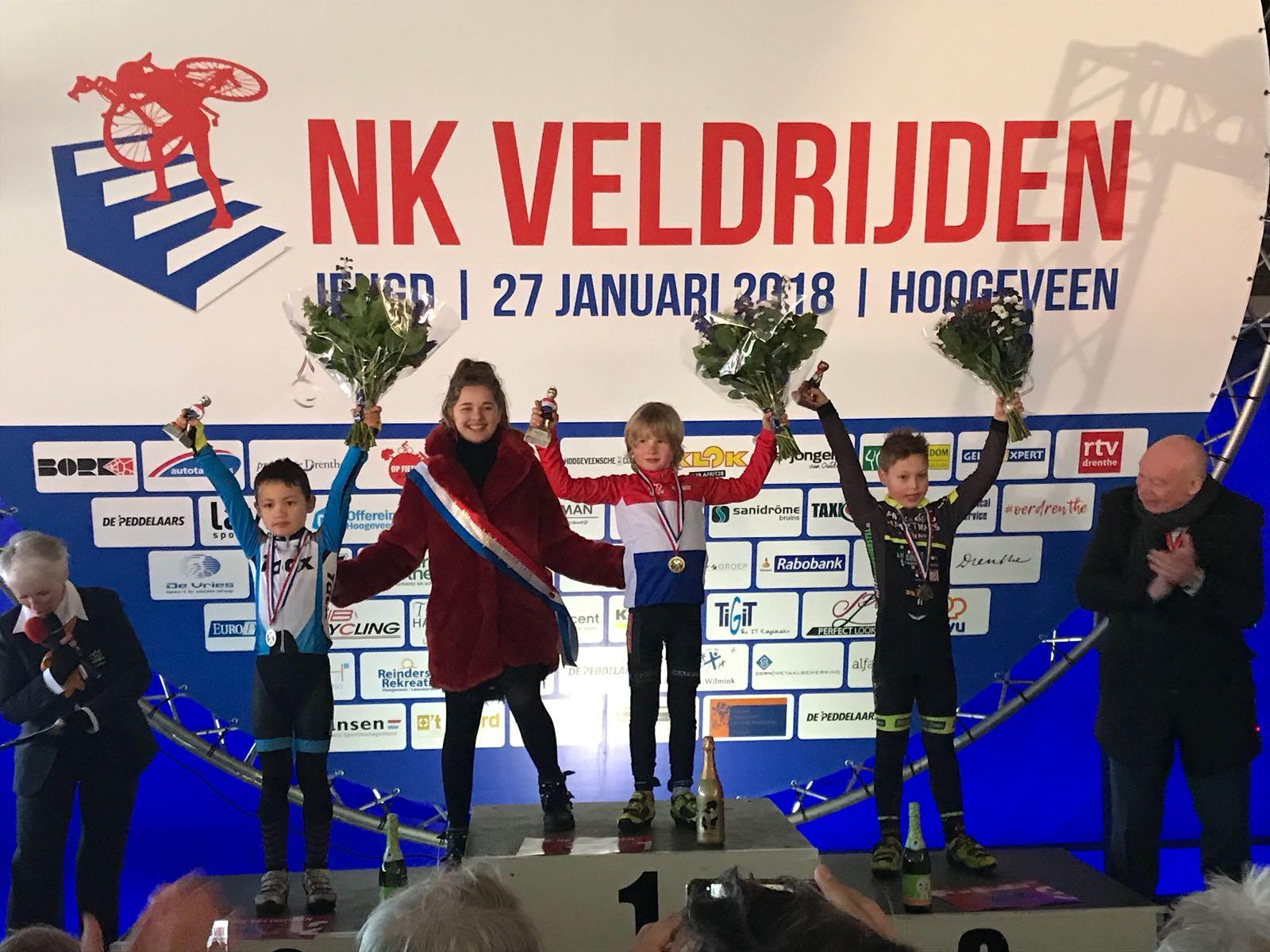 Beer van Beurden 1e plaats jeugd categorie 1